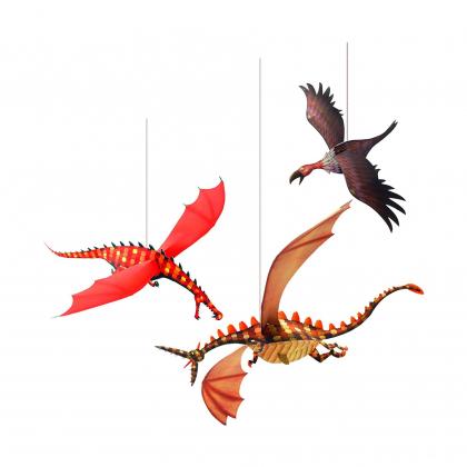 Мобиль Беспощадные драконы