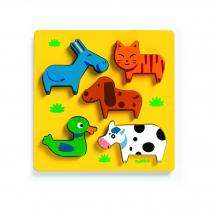 Пазл-сортировка Домашние животные