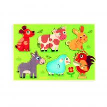 Рамка-вкладыш Животные на лугу