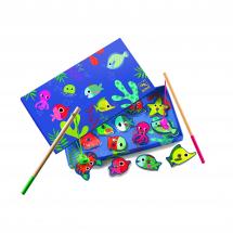 Магнитная игра-рыбалка Цвета