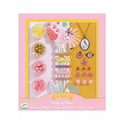 Набор для творчества Бусины и цветочки