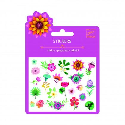 Наклейки Тропические цветы