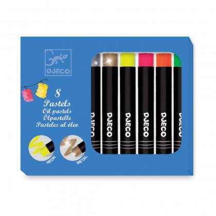 Набор пастельных карандашей, 8 шт.