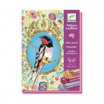 Набор для творчества Блестящие птицы