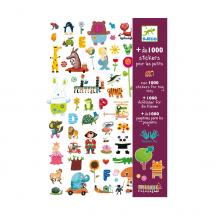 1000 наклеек для малышей