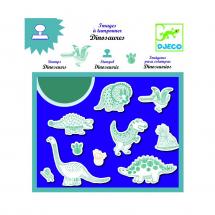 Набор штампов Динозавры