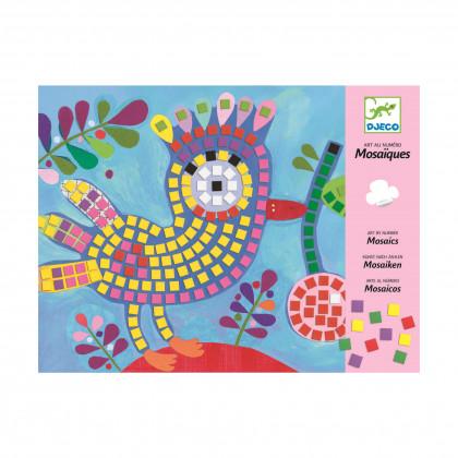 Мозаика Птица и божья коровка