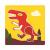 Набор трафаретов Динозавры