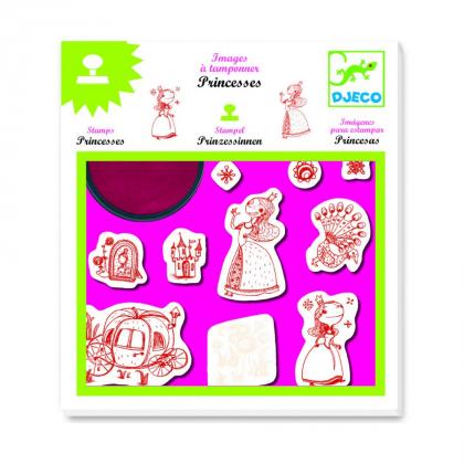 Набор штампов Принцессы