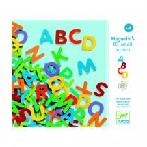 Деревянные магниты Латинские буквы