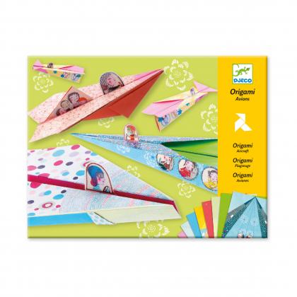 Оригами Весёлые авиаторы