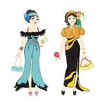 Набор для творчества Вечерние платья