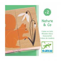Пазл-кубики Природа