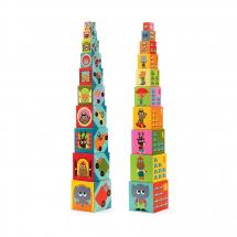 Кубики-пирамида Машины
