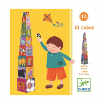 Кубики-пирамида Забавные кубики