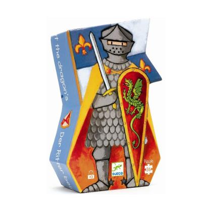 Пазл Рыцарь и дракон
