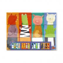 Кубики Животные, 12 шт.