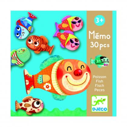 Игра-мемо Рыбки