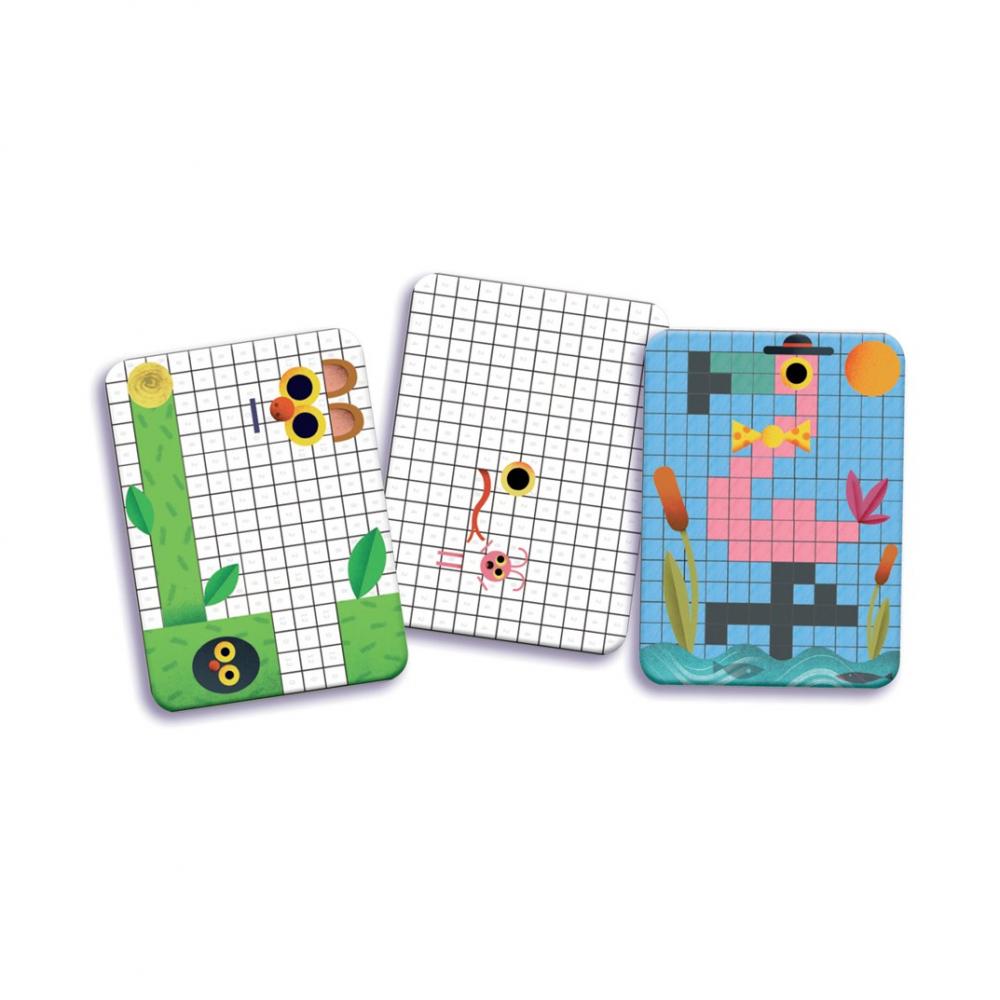 Игра-раскраска Пиксели 05388 от DJECO за 539 руб. Купить ...