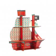 Пазл-полочка Пиратский корабль