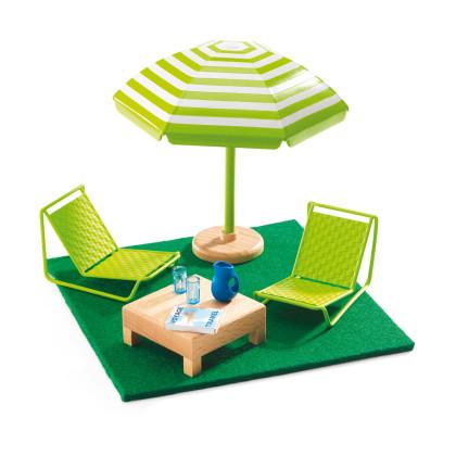 Мебель для кукольного дома Терраса