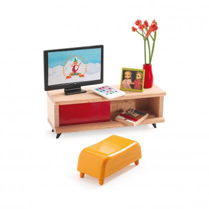 Мебель для кукольного дома Телевизор