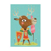Пригласительные открытки Рыцари