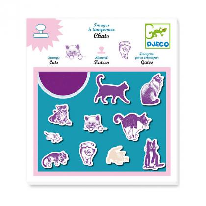 Набор штампов Кошки