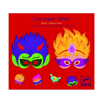 Набор масок Супер герои