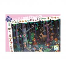 Пазл на наблюдательность Таинственный лес