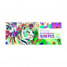 Пазл Тигры, 1000 деталей