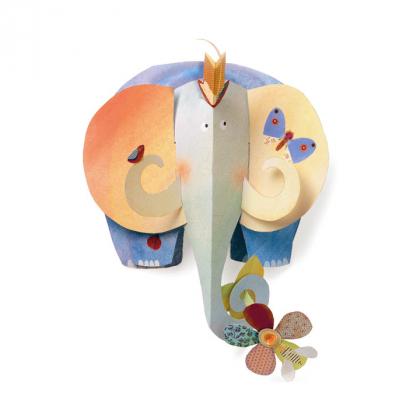 Объемная фигура Слон