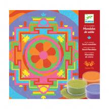 Песочные картинки Тибетские мандалы