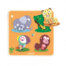 Рамка-вкладыш Мамы джунглей