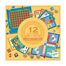 Настольная игра Классическая 12-в-1