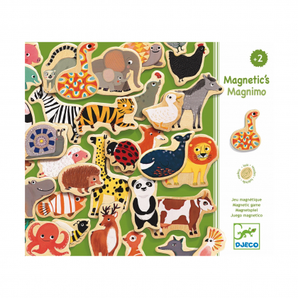 Деревянные магниты Зоопарк