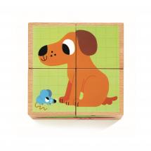 Кубики Друзья, 4 штуки