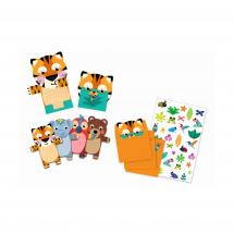 Пригласительные открытки Дикие животные