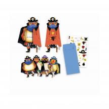 Пригласительные открытки Пираты