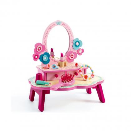Туалетный столик, розовый