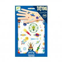 Светящиеся татуировки Космос