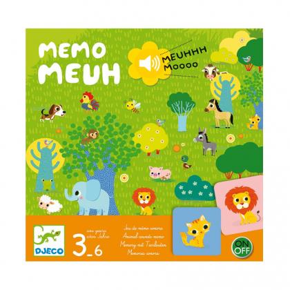 Настольная игра Мемо Мяу (уценка)