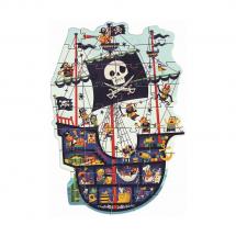 Пазл-гигант Пиратский корабль
