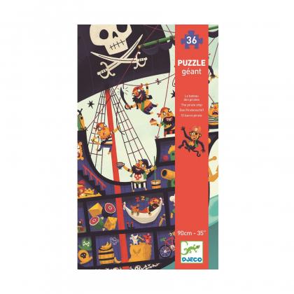 Пазл-гигант Пиратский корабль (уценка)