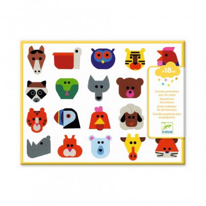 Набор наклеек Животные