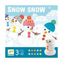 Настольная игра Снег-снежок