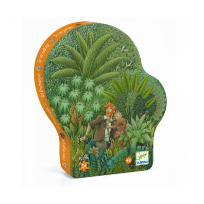 Пазл В джунглях