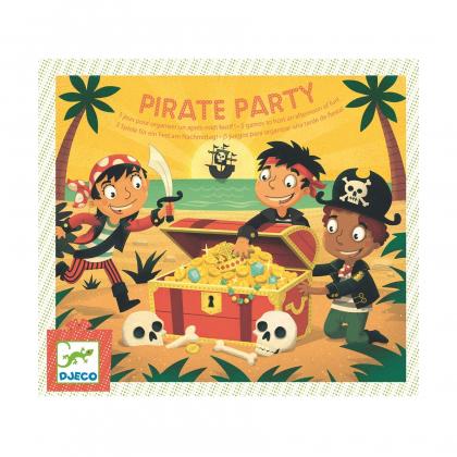 Настольная игра 5 в 1 Вечеринка пиратов