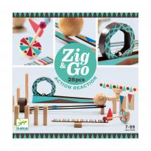 Конструктор Djeco Zig&Go, 28 деталей