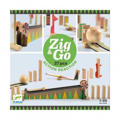Конструктор Djeco Zig&Go, 27 деталей